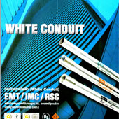WHITE CONDUIT